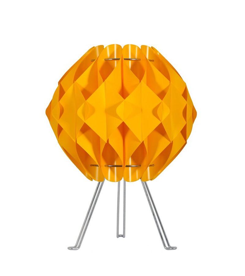 Κίτρινο Επιτραπέζιο φωτιστικό με τρίποδο
