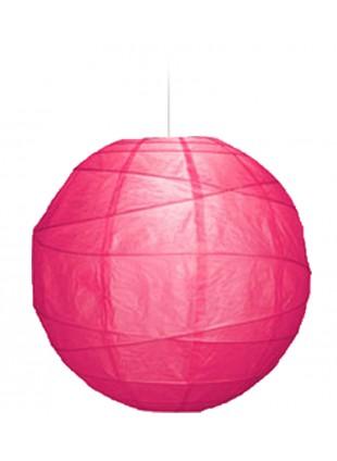"""Χάρτινο Φωτιστικό Μπάλα """"Akari"""" Lamp - Φ-40cm - Λιλά"""