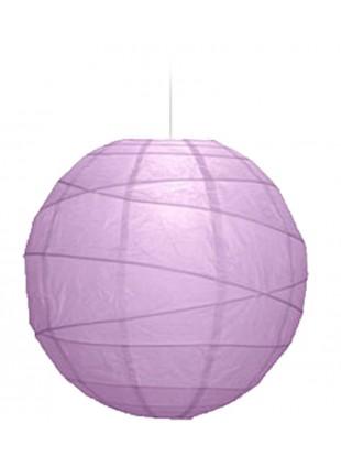 """Χάρτινο Φωτιστικό Μπάλα """"Akari"""" Lamp - Φ-40cm - Μωβ"""