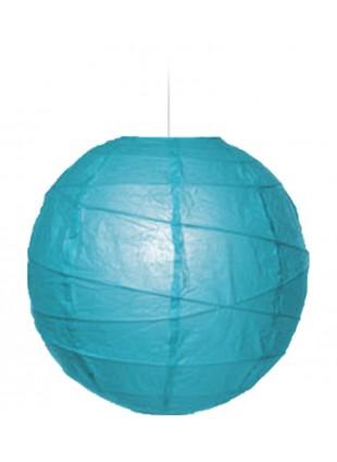 """Χάρτινο Φωτιστικό Μπάλα """"Akari"""" Lamp - Φ-40cm - Σιέλ"""