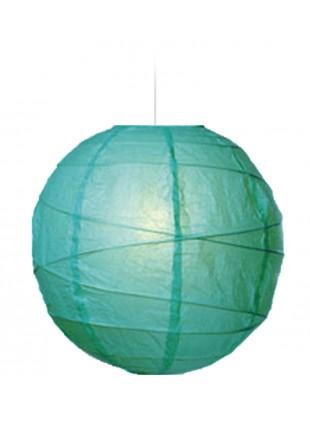"""Χάρτινο Φωτιστικό Μπάλα """"Akari"""" Lamp - Φ-40cm - Πετρόλ"""