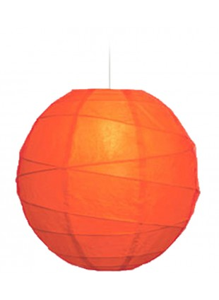 """Χάρτινο Φωτιστικό Μπάλα """"Akari"""" Lamp - Φ-40cm - Καρπουζί"""