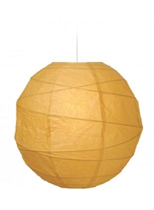 """Χάρτινο Φωτιστικό Μπάλα """"Akari"""" Lamp - Φ-40cm - Μπεζ"""
