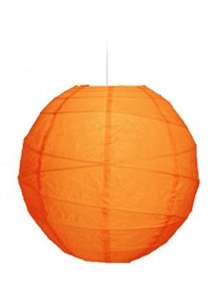 """Χάρτινο Φωτιστικό Μπάλα """"Akari"""" Lamp - Φ-40cm - Βερυκοκί"""