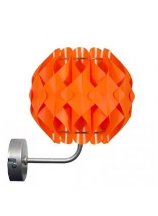Πορτοκαλί απλίκα Τοίχου Nova S1