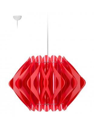 Κρεμαστό Μοντέρνο Φωτιστικό Οροφής Ravena M3 - Κόκκινο