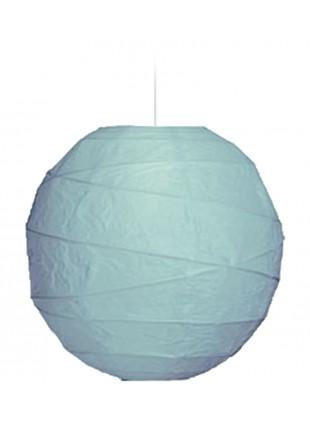 """Χάρτινο Φωτιστικό Μπάλα """"Akari"""" Lamp - Φ-40cm - Βεραμάν"""