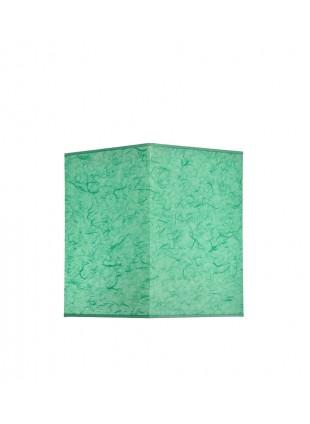 Βεραμάν Επιτραπέζιο Αμπαζούρ Τετράγωνο από Ριζόχαρτο Υ14cm