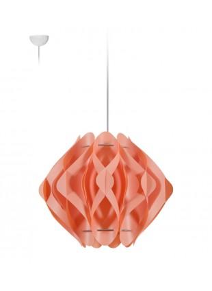 Κρεμαστό Μοντέρνο Φωτιστικό Οροφής Ravena S1 -Ροζ