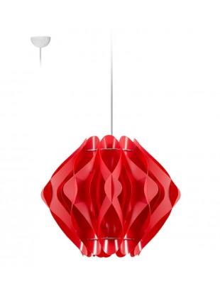 Κρεμαστό Μοντέρνο Φωτιστικό Οροφής Ravena S1 - Κόκκινο