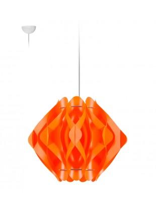 Κρεμαστό Μοντέρνο Φωτιστικό Οροφής Ravena S1 - Πορτοκαλί
