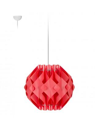 Κρεμαστό Μοντέρνο Φωτιστικό Οροφής Nova S1 - Κόκκινο