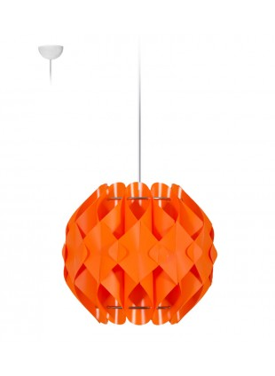 Κρεμαστό Μοντέρνο Φωτιστικό Οροφής Nova S1 - Πορτοκαλί