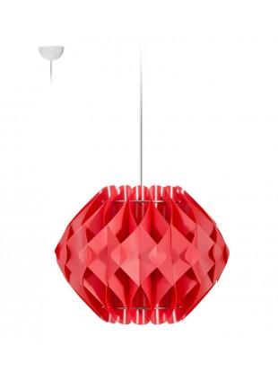 Κρεμαστό Μοντέρνο Φωτιστικό Οροφής Nova S2 - Κόκκινο