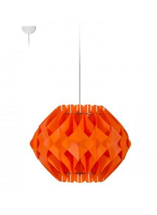 Κρεμαστό Μοντέρνο Φωτιστικό Οροφής Nova S2 - Πορτοκαλί