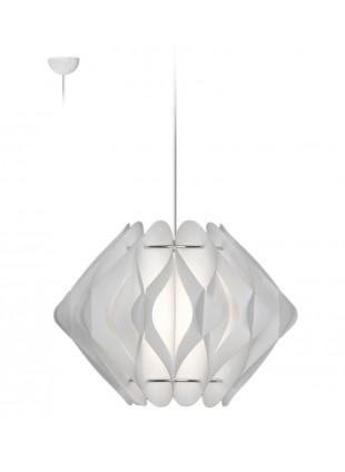 Κρεμαστό Μοντέρνο Φωτιστικό Οροφής Ravena S2 -Λευκό