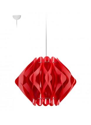 Κρεμαστό Μοντέρνο Φωτιστικό Οροφής Ravena S2 - Κόκκινο