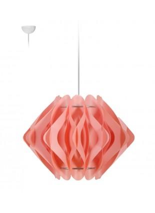 Κρεμαστό Μοντέρνο Φωτιστικό Οροφής Ravena S2 - Ροζ