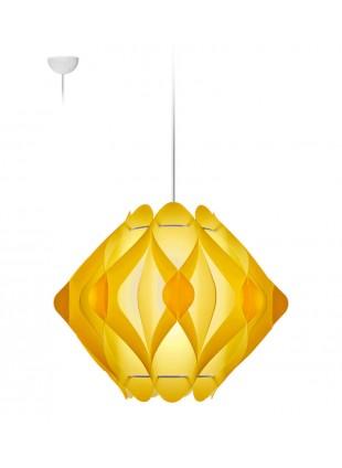 Κρεμαστό Μοντέρνο Φωτιστικό Οροφής Ravena M1 - Κίτρινο