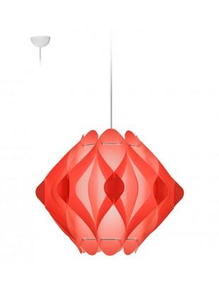 Κρεμαστό Μοντέρνο Φωτιστικό Οροφής Ravena M1 - Κόκκινο
