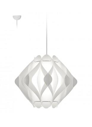 Κρεμαστό Μοντέρνο Φωτιστικό Οροφής Ravena M1 - Λευκό