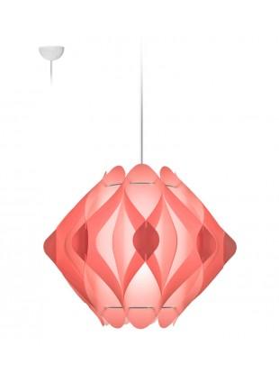 Κρεμαστό Μοντέρνο Φωτιστικό Οροφής Ravena M1 - Ροζ