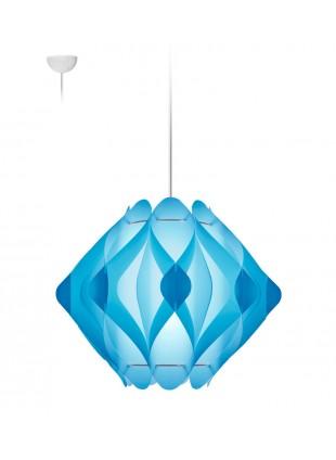 Κρεμαστό Μοντέρνο Φωτιστικό Οροφής Ravena M1 - Σιέλ