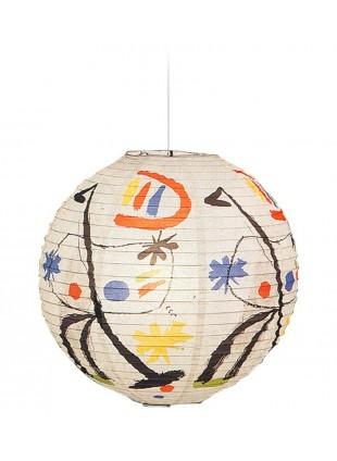 Κρεμαστό Χάρτινο Φωτιστικό Joan Miro