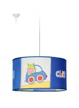 Μπλε Κρεμαστό Φωτιστικό Αυτοκινητάκια