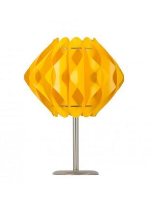 Κίτρινο επιτραπέζιο φωτιστικό Saporo S2 βάση 20 cm