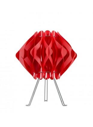 Κόκκινο  επιτραπέζιο φωτιστικό Ravena S2 με τρίποδο