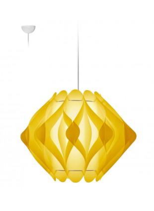Κρεμαστό Μοντέρνο Φωτιστικό Οροφής Ravena M2 - Κίτρινο