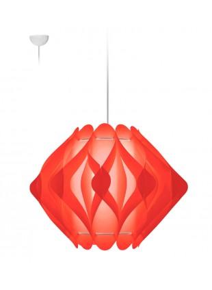 Κρεμαστό Μοντέρνο Φωτιστικό Οροφής Ravena M2 - Κόκκινο
