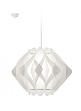 Κρεμαστό Μοντέρνο Φωτιστικό Οροφής Ravena M2 - Λευκό