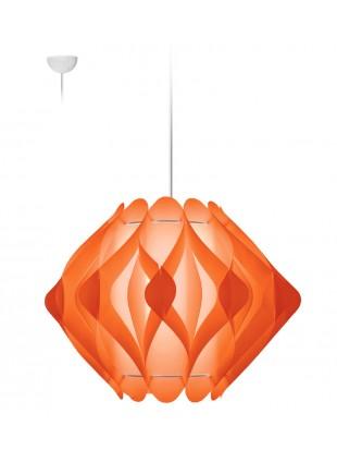 Κρεμαστό Μοντέρνο Φωτιστικό Οροφής Ravena M2 - Πορτοκαλί