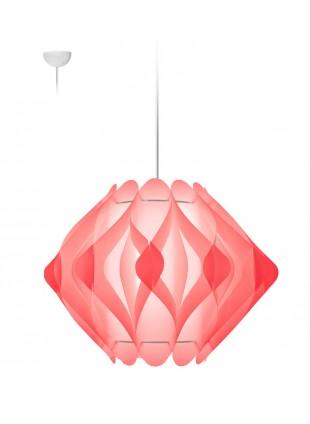 Κρεμαστό Μοντέρνο Φωτιστικό Οροφής Ravena M2 - Ροζ