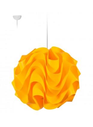 Κίτρινο κρεμαστό φωτιστικό οροφής Wave M