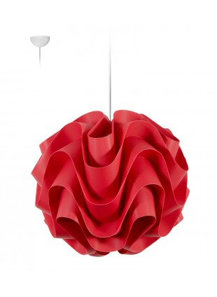 Κρεμαστό Μοντέρνο Φωτιστικό Οροφής Wave M1 - Κόκκινο