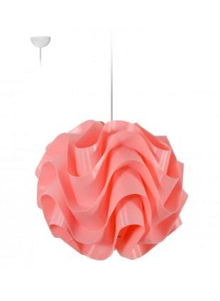 Ροζ κρεμαστό φωτιστικό οροφής Wave M