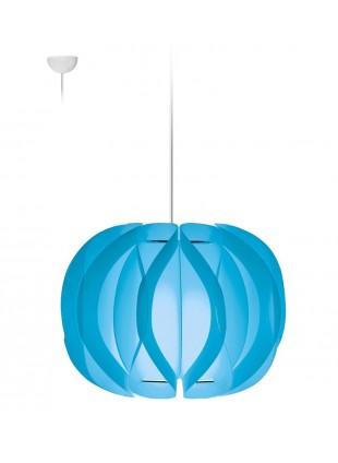 Κρεμαστό Μοντέρνο Φωτιστικό Οροφής Luna - Σιέλ