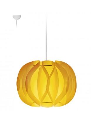 Κρεμαστό Μοντέρνο Φωτιστικό Οροφής Luna S1 - Κίτρινο