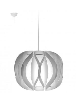 Κρεμαστό Μοντέρνο Φωτιστικό Οροφής Luna - Λευκό