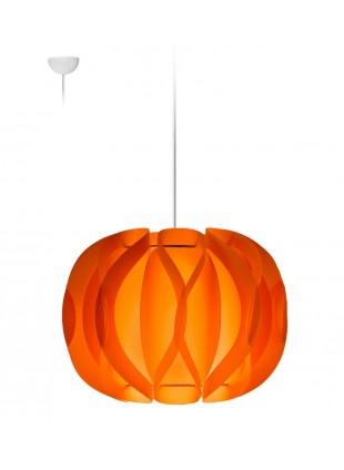 Κρεμαστό Μοντέρνο Φωτιστικό Οροφής Luna - Πορτοκαλί
