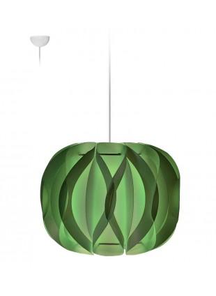 Κρεμαστό Μοντέρνο Φωτιστικό Οροφής Luna  Πράσινο