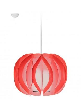 Κρεμαστό Μοντέρνο Φωτιστικό Οροφής Luna  - Τριανταφυλλί