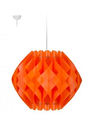 Πορτοκαλί κρεμαστό φωτιστικό οροφής Nova L2