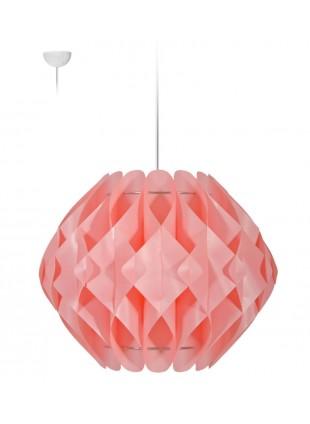 Ροζ κρεμαστό φωτιστικό οροφής Nova L2