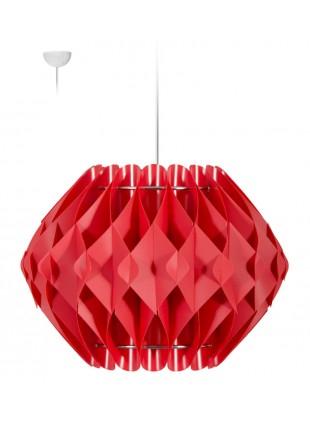 Κόκκινο κρεμαστό φωτιστικό οροφής  Nova L3