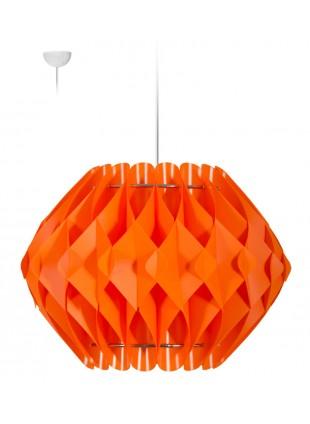 Πορτοκαλί κρεμαστό φωτιστικό οροφής  Nova L3