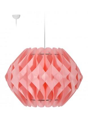 Ροζ κρεμαστό φωτιστικό οροφής  Nova L3
